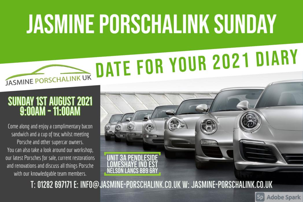 EVENT: Jasmine PorschaLink Sunday – 01/08/2021