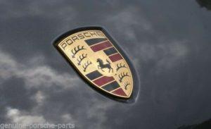 Porsche Bonnet Badges